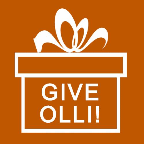 GIVE OLLI!