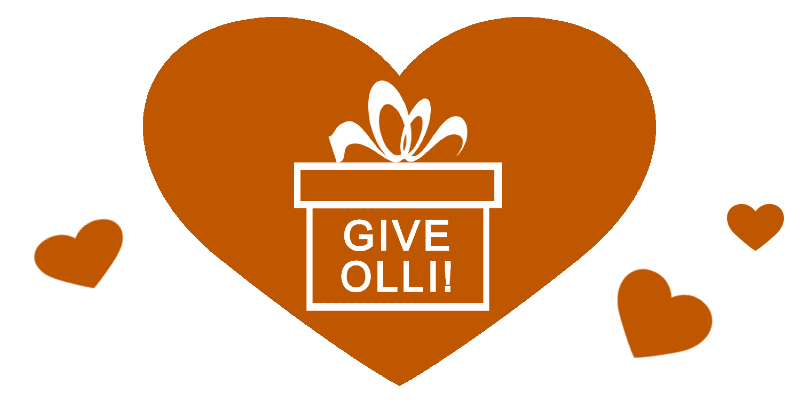 Give OLLI in hearts