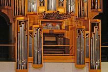 Organ at Butler School of Music